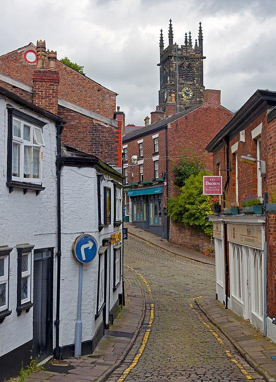 St Michael's church, Macclesfield, Cheshire, Daniel Case, Wikimedia Commons