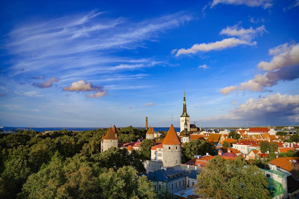 Tallinn Old Town Estonia by Alexander Gu Visit Estonia