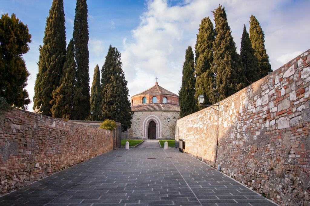 Tempio di San Michele Arcangelo Umbria by Cristina Jurca Shutterstock