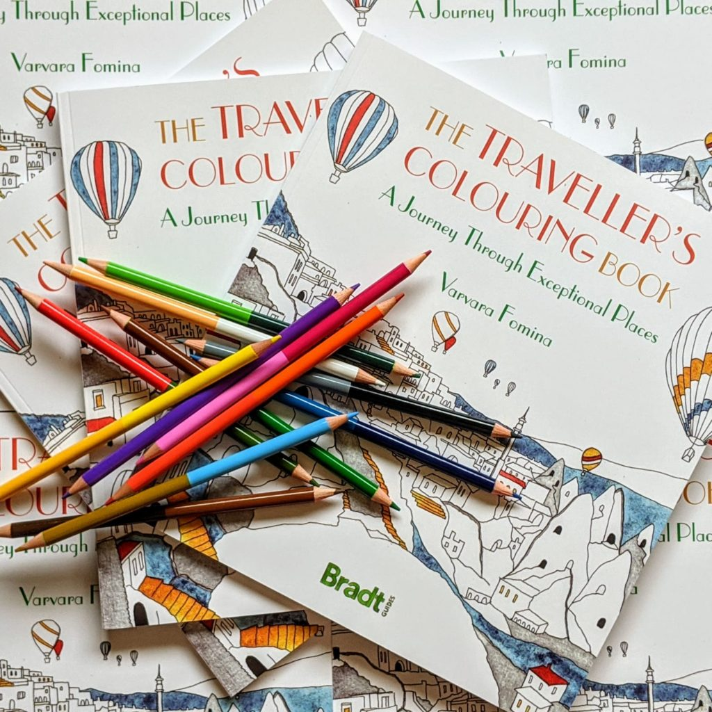 The Traveller's Colouring Book by Varvara Fomina