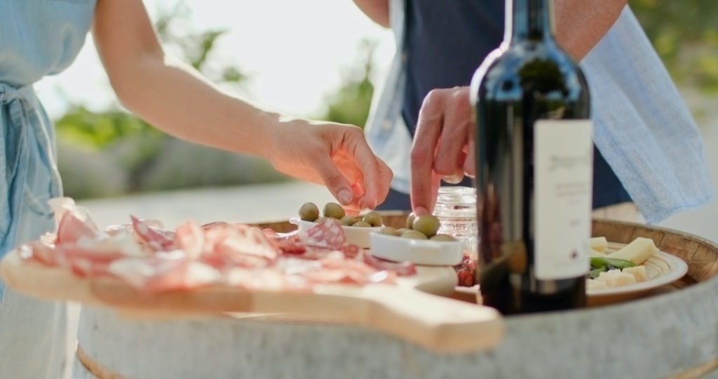 Umbria wine and cheese by ZoneCreative Shutterstock