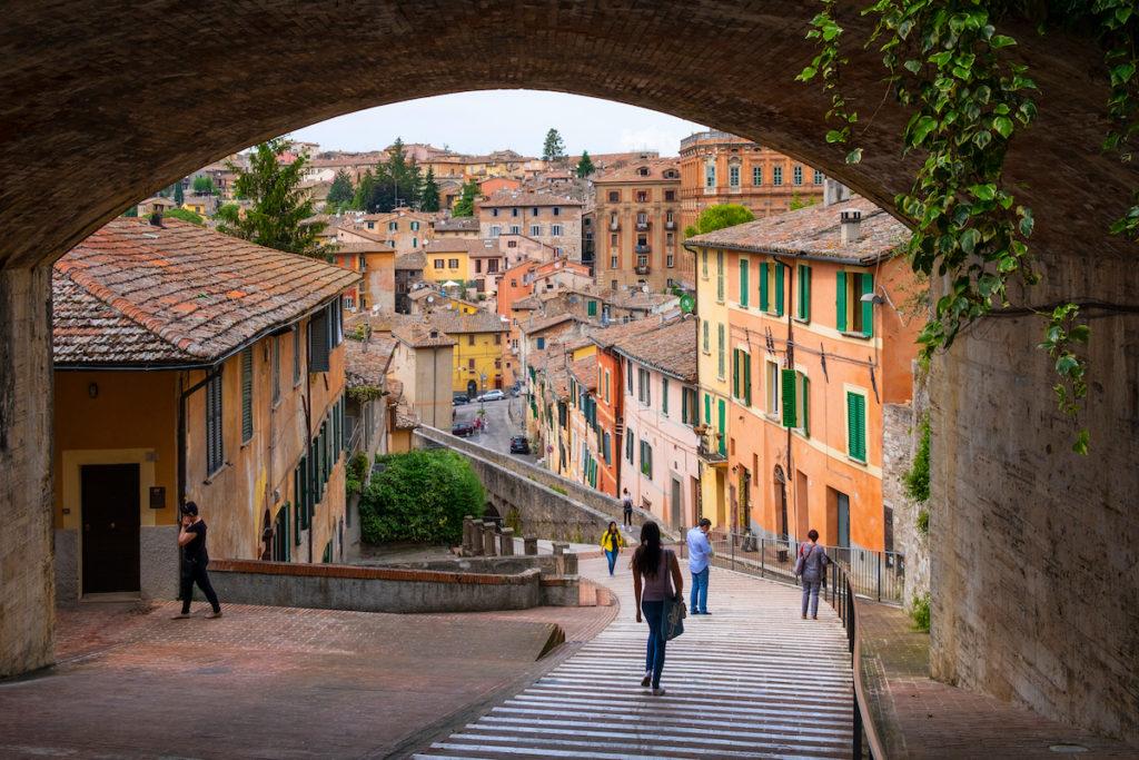 Via Appia Street Perugia Umbria by ArtMediaFactory Shutterstock