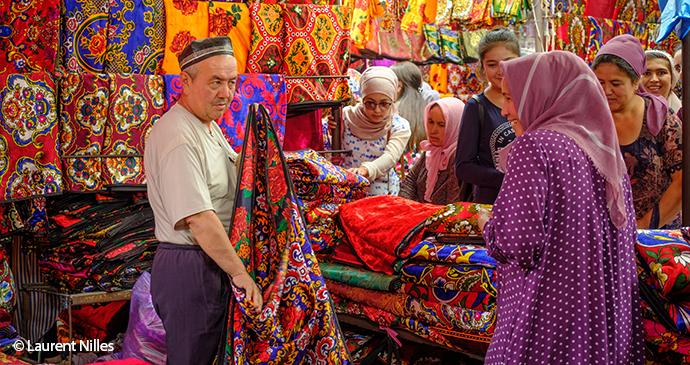 Suzani, Uzbekistan, Laurent Nilles world crafts