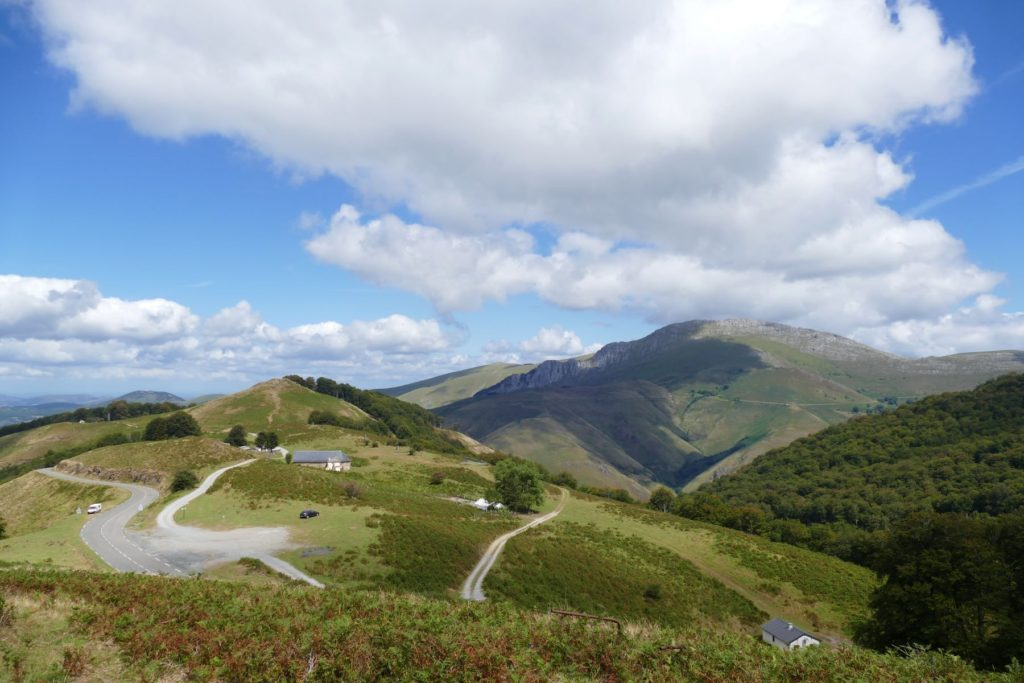 Looking out over Col d'Iraty, one of the best road trips
