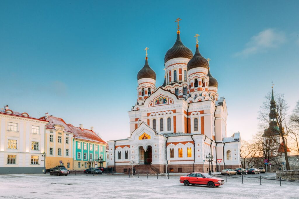 Alexander Nevsky Cathedral, one of the finest churches in Europe