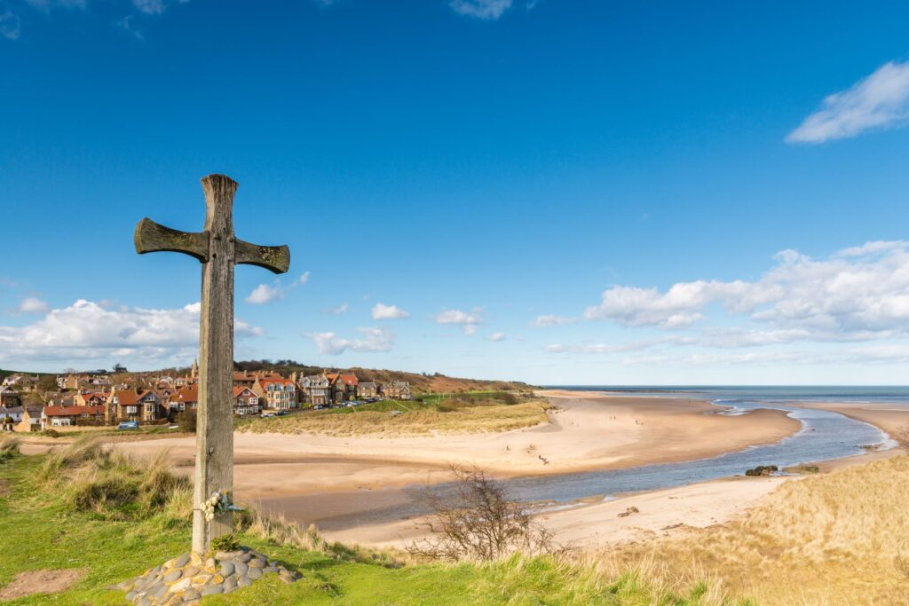 Alnmouth Northumberland beach