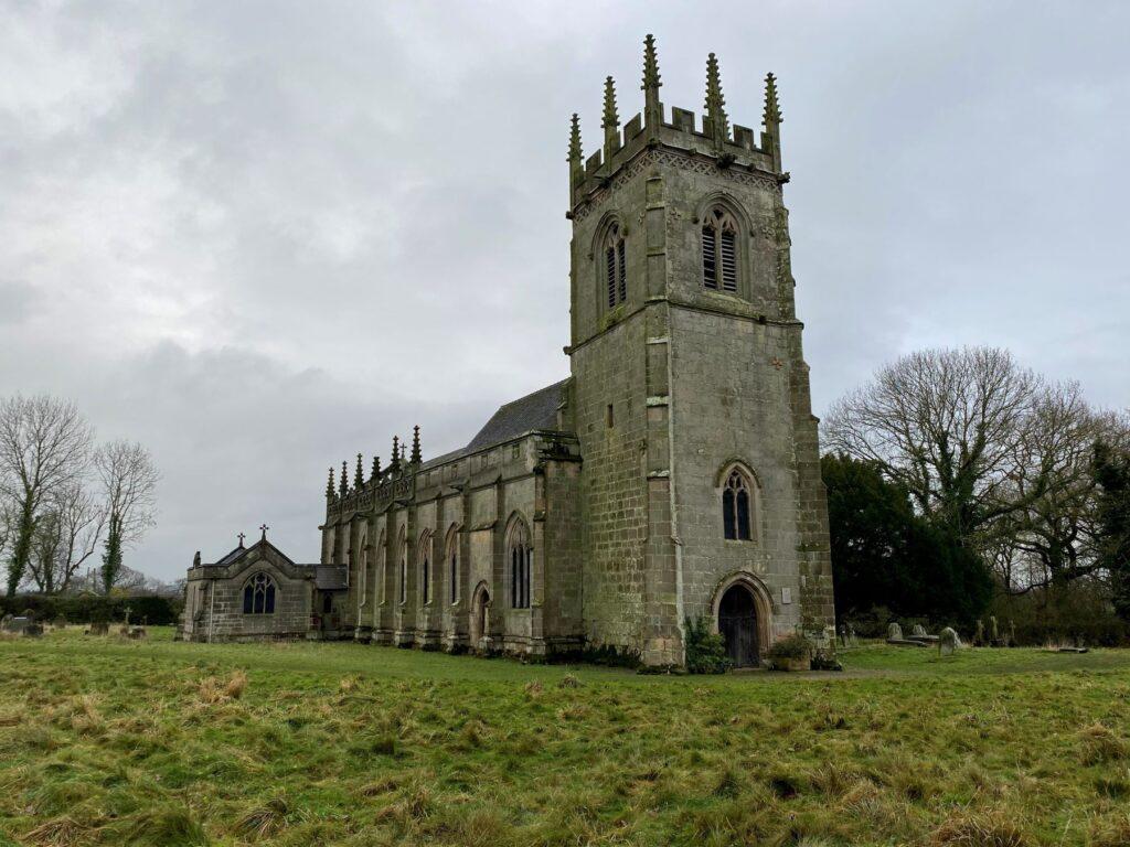 Battlefield church near Shrewsbury