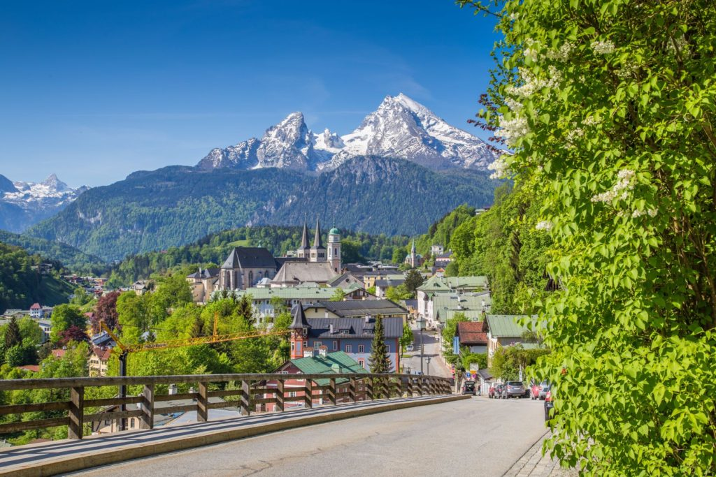 Berchtesgaden in Germany, epic views on one of the best road trips
