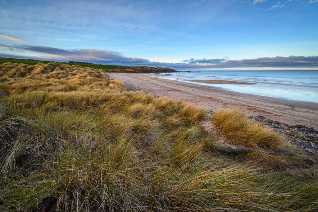 Cheswick Sands beaches Northumberland