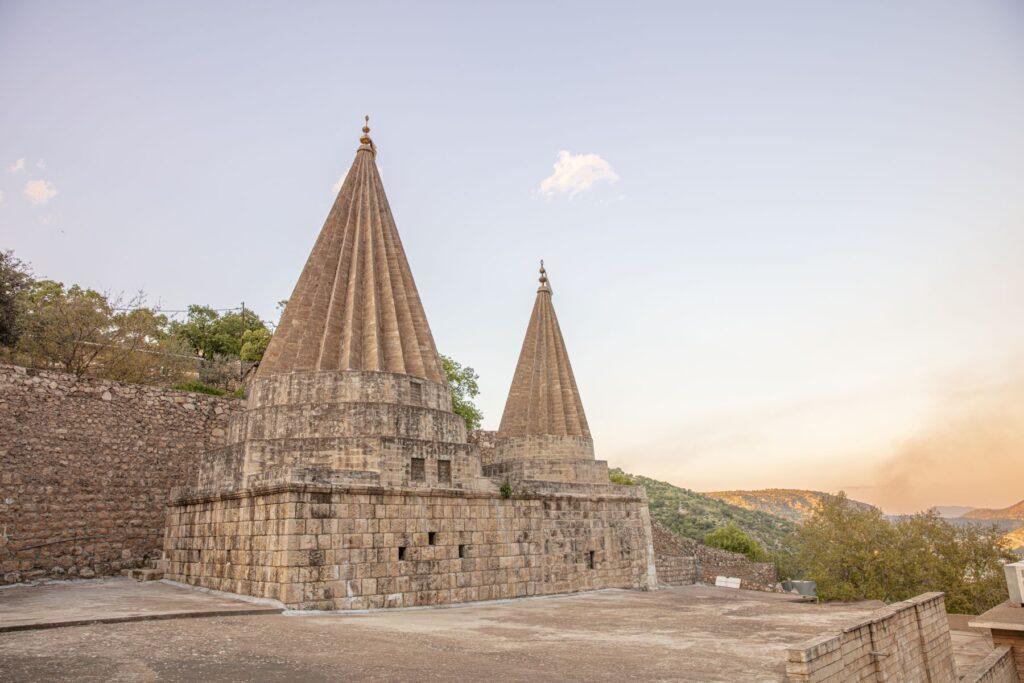 Lalish temple in Iraqi Kurdistan