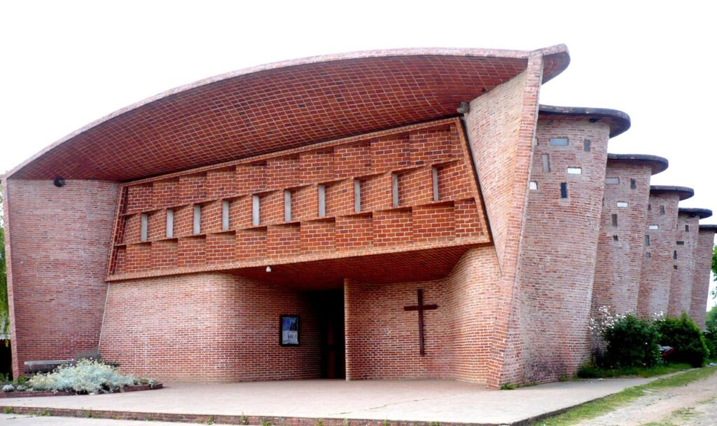The Church of Atlántida as a UNESCO world heritage site