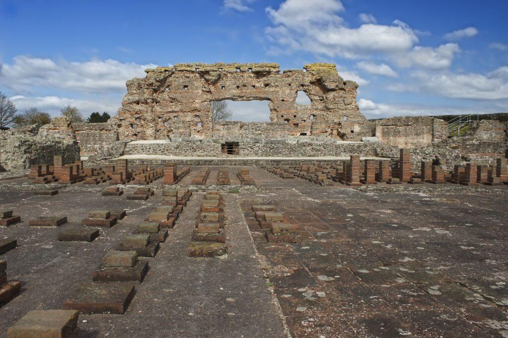Wroxeter Roman City near Shrewsbury