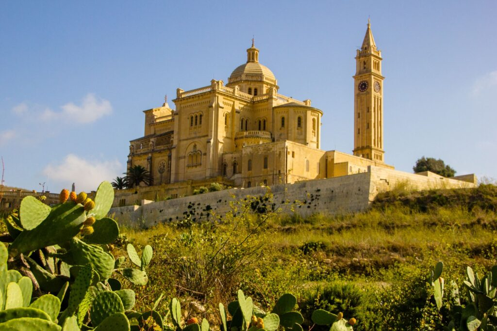 Sanctuary of Ta' Pinu, one of the finest churches in Europe