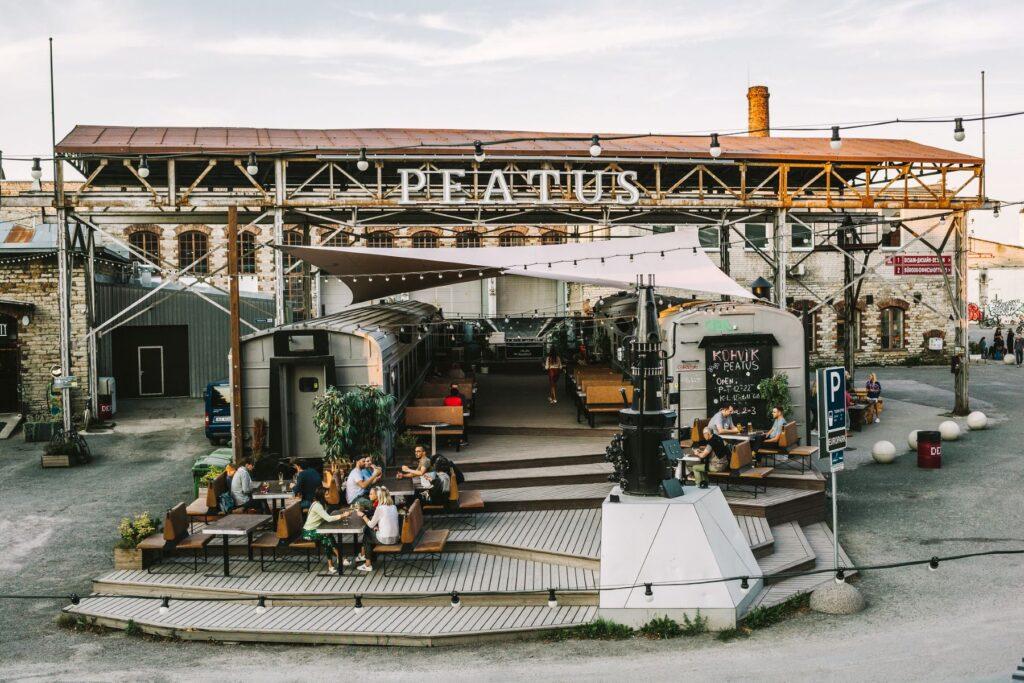 Restaurant near Kalamaja