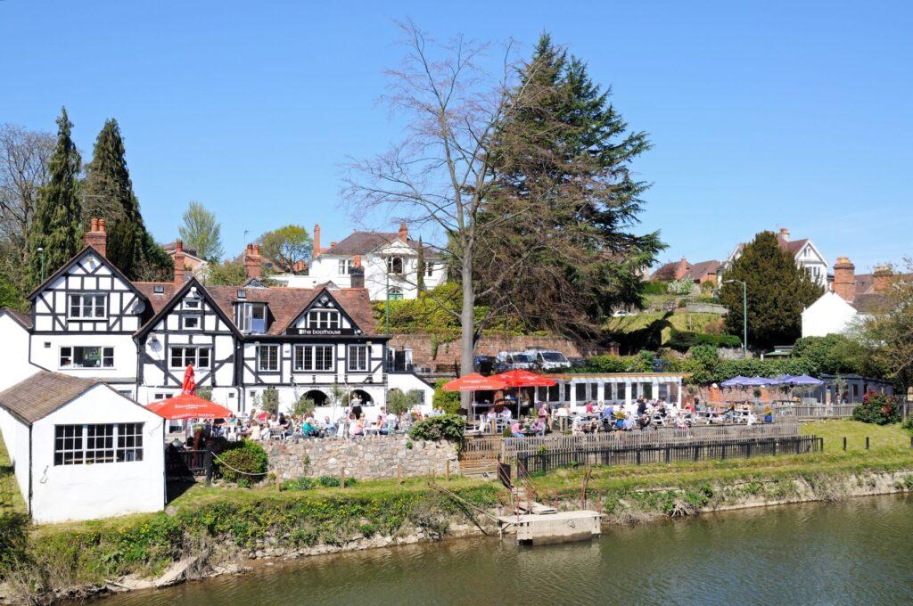 The Boatshouse in Shrewsbury