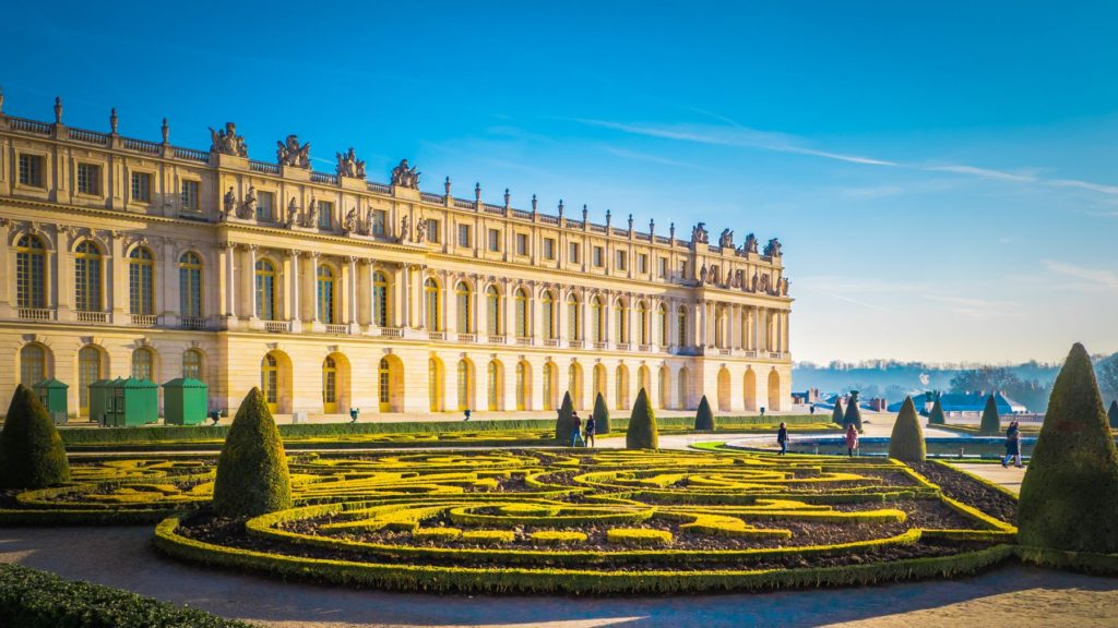 The Palace of Versailles in France as part of one of the best road trips