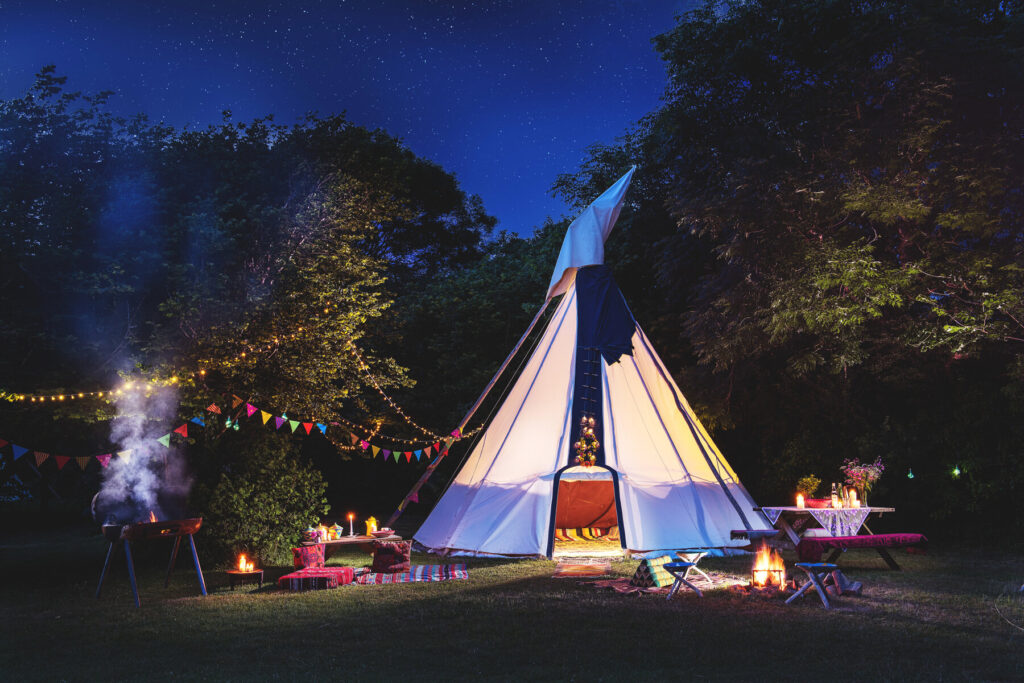 woodland campsites