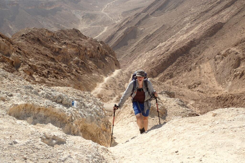 Israel National Trail, Three Stripes South, Bex Band