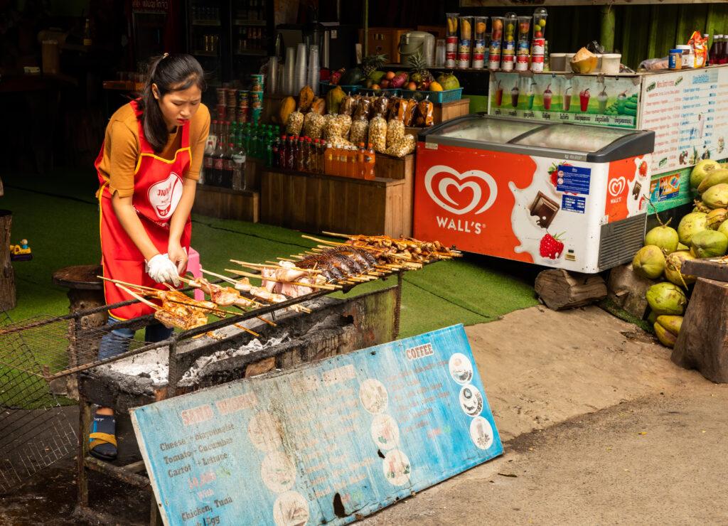 Food market, Luang Prabang, Laos © Bharat Patel