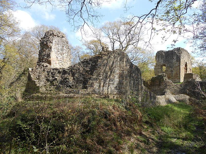 Elwoe Castle spookiest woods Britain