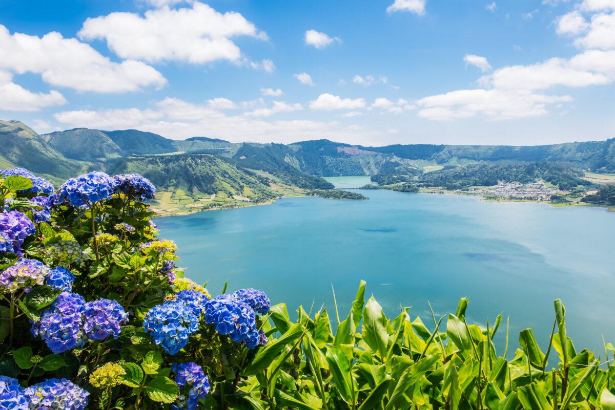 Sete Cidades Lake Azores Portugal