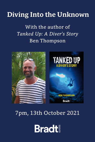 The Travel Club Talks: Diving Into the Unknown with Ben Thompson – 7pm, 13 October