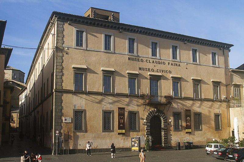 Museo Etrusco Claudio Faina Orvieto Tiber Valley Umbria