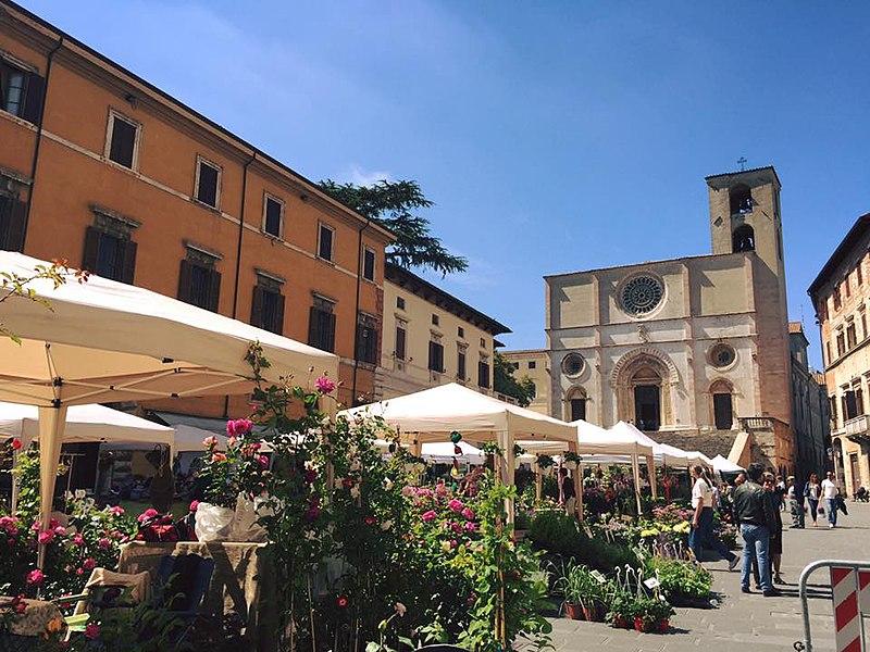 Piazzo del Popolo Todi Tiber Valley Umbria