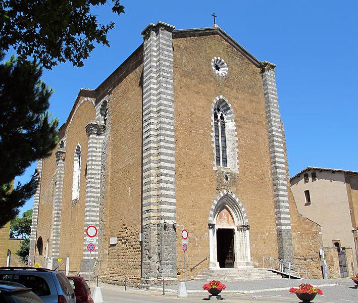 San Domenico Orvieto Tiber Valley Umbria