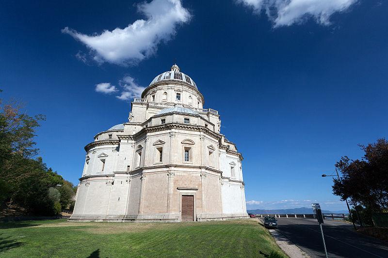 Tempio di Santa Maria Todi Tiber Valley Umbria