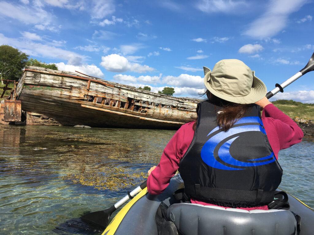 Kayaking Shuna William Gray