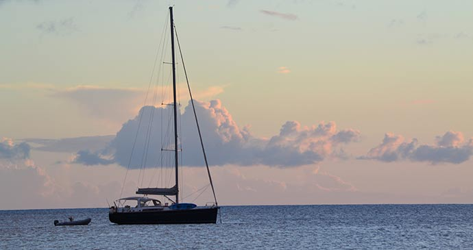 Boat at dusk © Adam Strange