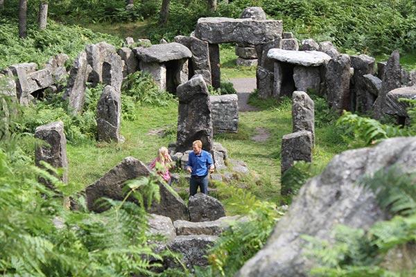 The Druid's Temple, Masham. Secret Britain