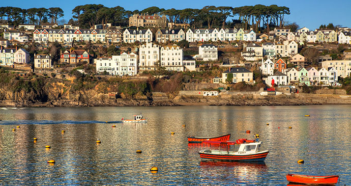 Fowey Cornwall England UK by Gordon Bell Shutterstock