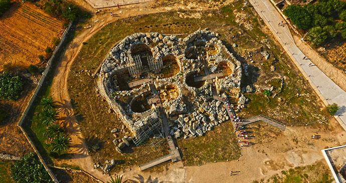 Ġgantija Temples on Malta by Visit Malta