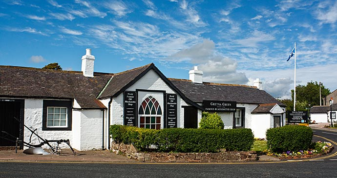 The World Famous Old Blacksmith's Shop in Gretna Green © stocksolutions, Shutterstock