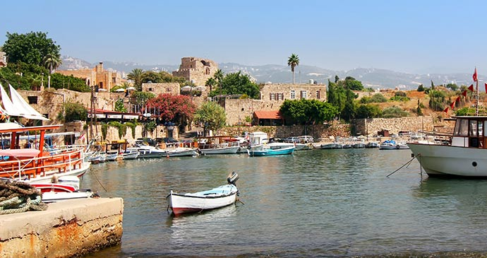 Small harbour in Byblos, Lebanon © iryna1, Shutterstock