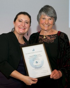 Hilary Bradt wins guidebook of the year at the BGTW awards