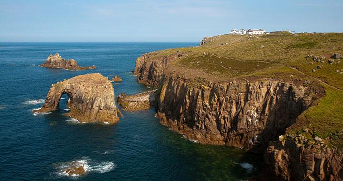 Lands End Cornwall England UK by stocker1970 Shutterstock