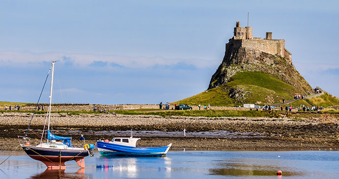 Lindisfarne Castle Lindisfarne Northumberland England UK by Philip Bird LRPS CPAGB Shutterstock