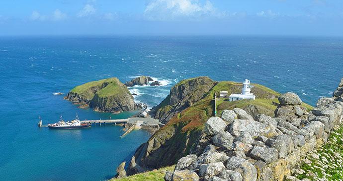 Lundy Island Devon England UK by Diana Mower Shutterstock