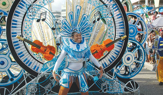 Saint Lucia Carnival © Saint Lucia Tourist Board
