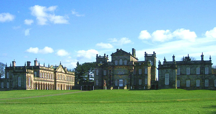 Seaton Delaval Hall Northumberland England UK by Alan J. White Wikimedia Commons