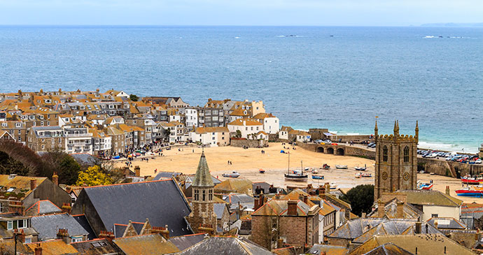 St Ives Cornwall England UK by Bertl123 Shutterstock