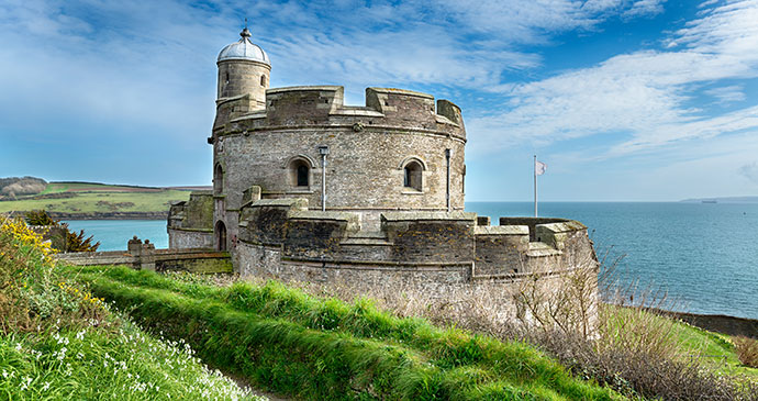 St Mawes Castle Cornwall England UK by Helen Hotson Shutterstock