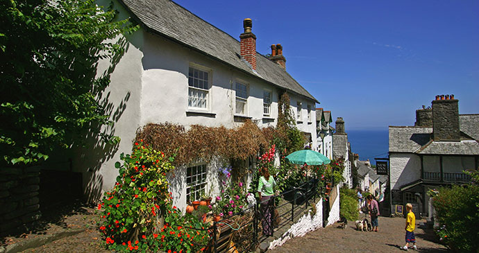 Clovelly North Devon England UK by Juneisy Q. Hawkins Shutterstock