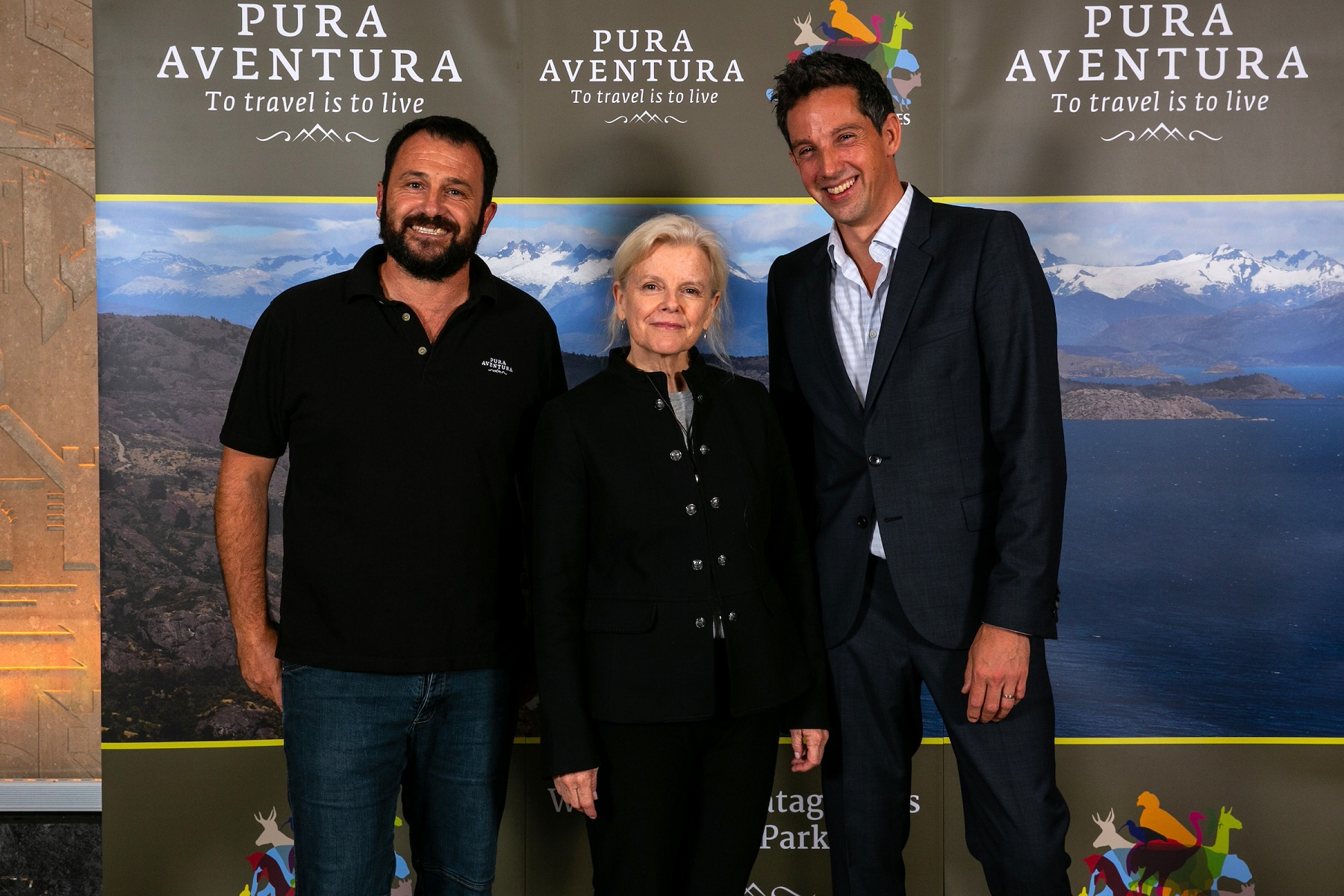 Thomas Power and Kristine Tompkins (Route of Parks) and Diego_Martin, Pura Aventura