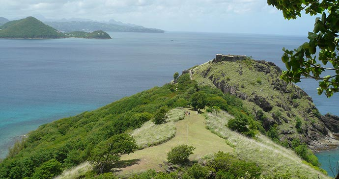 View along Pigeon Island © Claire Strange