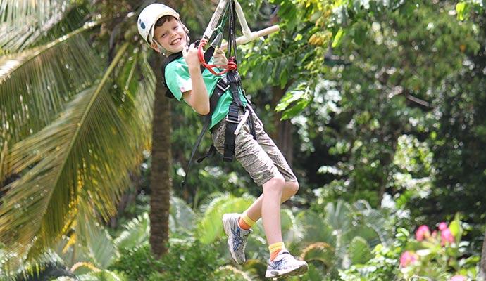 Ziplining © Bradt Travel Guides