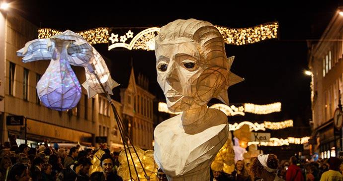Truro City of Lights Festival © Steve Tanner